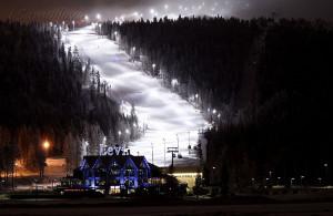 Лыжный курорт в Финляндии