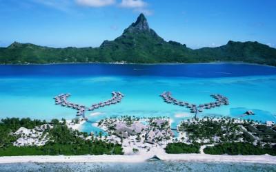 Остров Бора-Бора - настоящий рай на земле